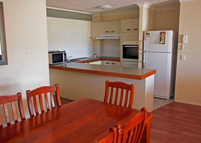 Standard Apartment Dining Area