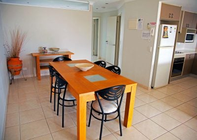 Renovated Apartment 5 Dining Area