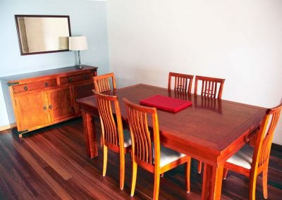 Renovated Apartment 3 Dining Area